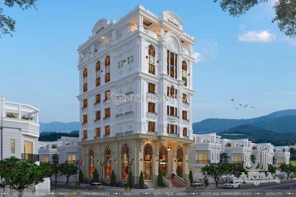 Thiết kế khách sạn tân cổ điển (CĐT: ông Sáng - Quảng Ninh) KT82242