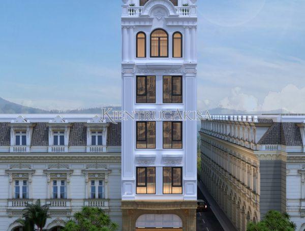 Nhà phố tân cổ điển kết hợp kinh doanh tại Hà Nội KT82117