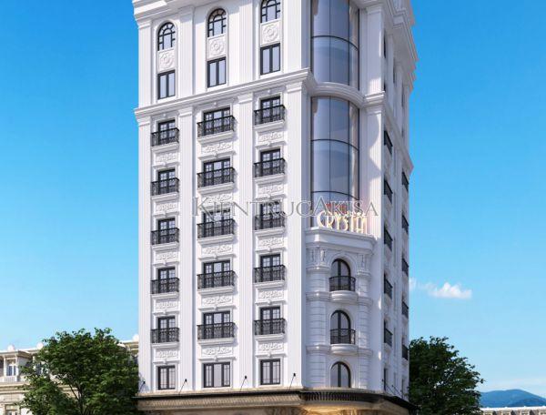 Thiết kế khách sạn phong cách tân cổ điển Pháp (CĐT: ông Bình - Bắc Ninh) KT92271
