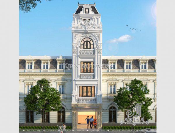 Nhà phố tân cổ điển 5 tầng mặt tiền 4m (CĐT: ông Hòa - Hà Nội) KT52291