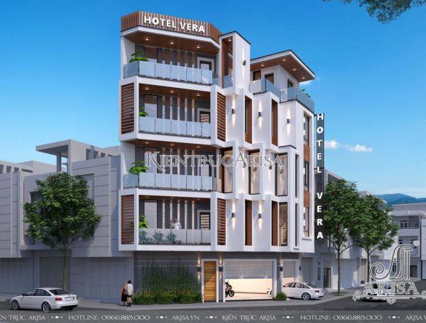 Akisa thiết kế khách sạn hiện đại 5 tầng (CĐT: ông Bắc - Nha Trang) KT51299