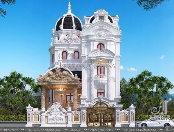 Ấn tượng lâu đài biệt thự phong cách Pháp (ông Cao - Hải Phòng) BT52295